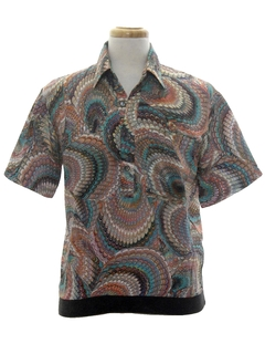 1970's Mens Resort Wear Club Shirt