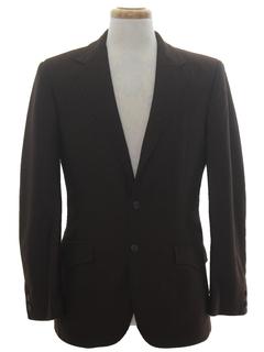1970's Mens Western Style Blazer Sport Coat Jacket