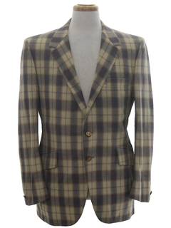 1970's Mens Disco Sport Coat Blazer Jacket