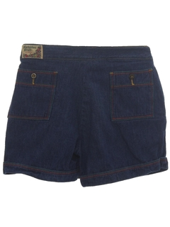 1980's Womens Totally 80s Denim Shorts