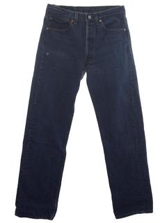 1980's Mens Grunge Levis 501 Jeans Pants