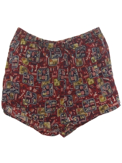 1960's Mens Mens Mod Swim Shorts
