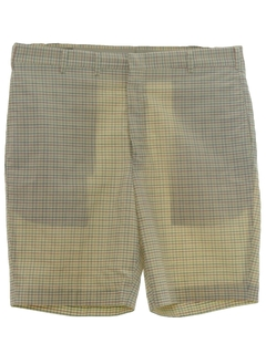 1960's Mens Mens Saturday Shorts