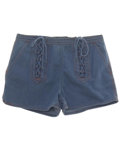 1970's Womens Womens Denim Shorts