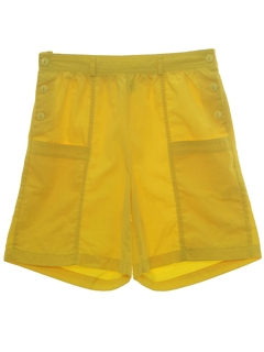 1980's Womens Womens Totally 80s Shorts