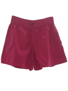 1980's Womens Womens Totally 80s Baggy Shorts