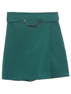 1990's Womens Girl Scouts Uniform Skort Skirt
