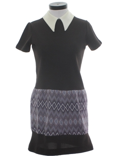 1970's Womens Mini Dress