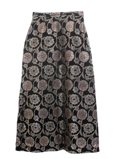 1960's Womens Cocktail Skirt