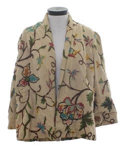 1960's Womens Hippie Style Jacket