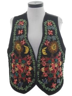 1970's Womens Hippie Vest