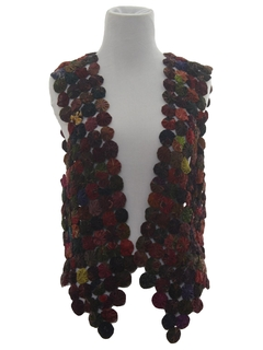 1970's Womens Hippie Style Vest