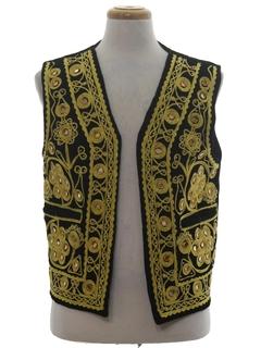 1990's Unisex Hippie Vest