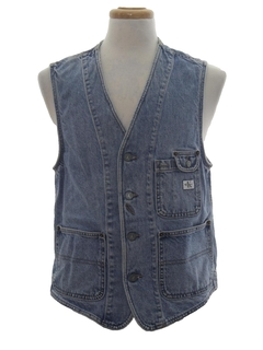 1990's Mens Wicked 90s Denim Vest