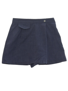 1970's Womens Tennis Sport Skort Shorts
