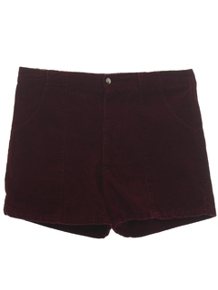 1970's Mens Op Style Corduroy Shorts