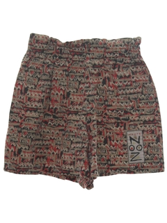 1990's Womens Wicked 90s Print Baggy Shorts