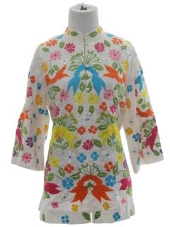 1970's Womens Hippie Shirt