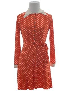 1970's Womens Mod Dress