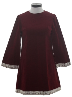 1960's Womens Mod Dress