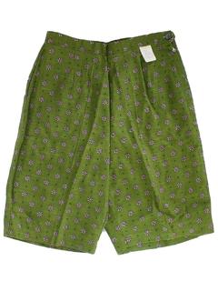 1960's Womens Shorts