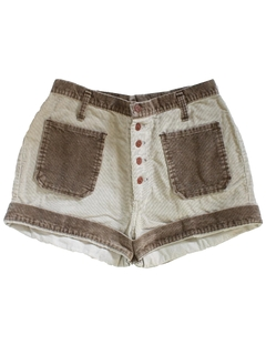 1970's Womens Corduroy Shorts