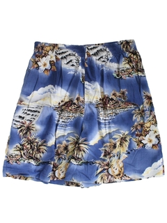 1990's Womens Wicked 90s Hawaiian Shorts