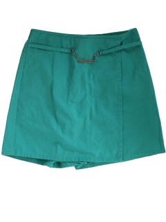 1980's Womens Girl Scout Skorts Shorts