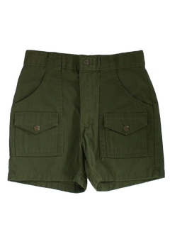 1980's Mens Mens/boys Boy scout Shorts