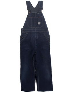 1950's Mens Denim Overalls