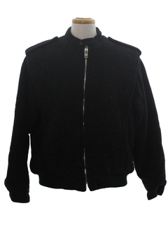 1980's Mens Totally 80s Zip Jacket