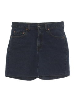 1980's Mens Jeans Style Shorts