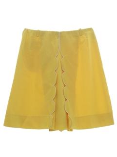 1960's Womens Skort Shorts