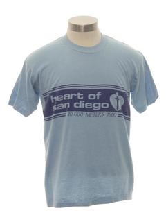 1980's Unisex Runners T-Shirt