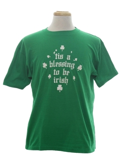 1980's Unisex Irish T-Shirt