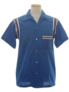 1960's Mens Bowling Shirt