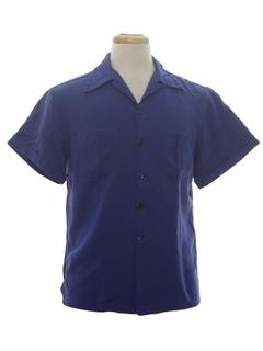 1950's Mens Gabardine Shirt