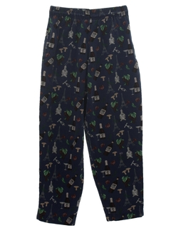 1990's Mens Chef Pants