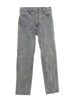 1990's Womens Wicked 90s Acid Washed Jeans Pants