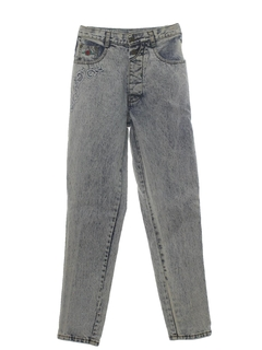 1980's Womens Totally 80s Jeans Pants