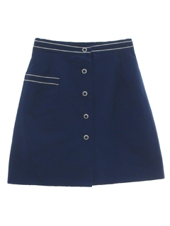 1970's Womens Skort Short