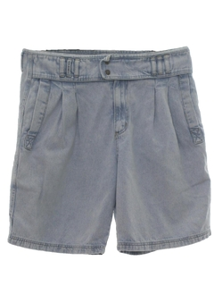 1980's Mens Totally 80s Denim Shorts
