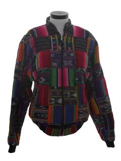 1980's Unisex Hippie Jacket