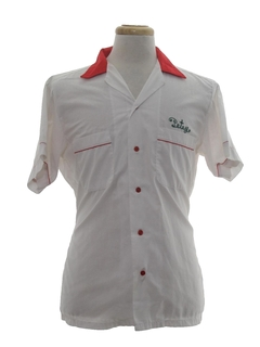 1980's Mens Bowling Shirt