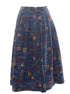 1980's Womens Skirt