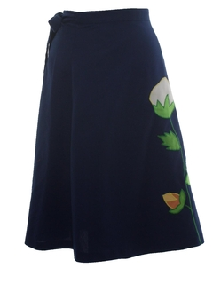 1970's Womens Wrap Skirt