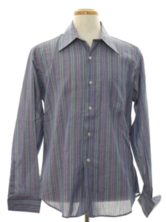 1970's Mens French Cuff Shirt