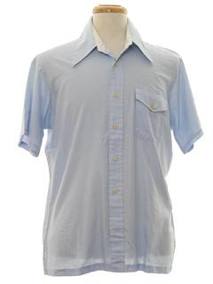 1970's Mens Mod Sport Shirt
