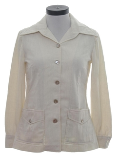1970's Womens Style Leisure Jacket Style Shirt