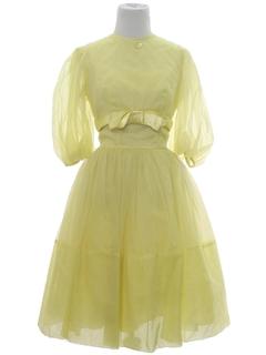 1960's Womens Prom Dress